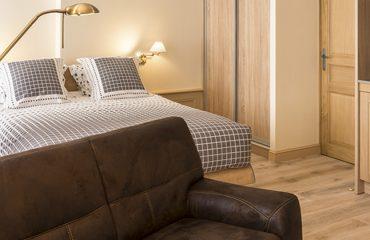espace nuit de l'appartement Alexis de Tocqueville - La Villoise à Granville